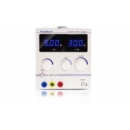 PeakTech P6140 labortápegység