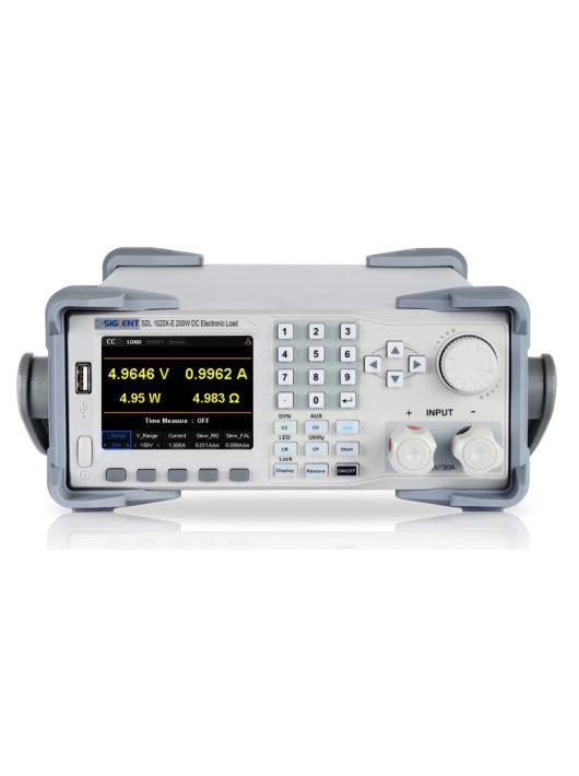 Siglent SDL1020X programozható dc terhelés