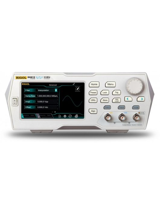 Rigol DG822 függvénygenerátor