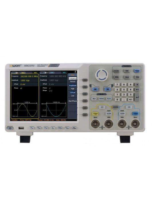 Owon XDG3162 függvénygenerátor