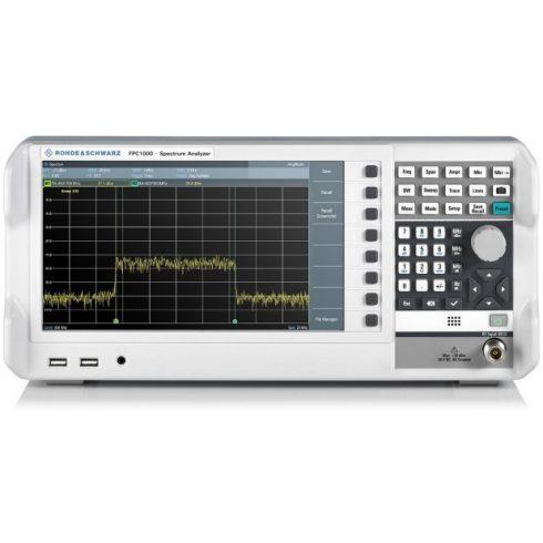 Rohde & Schwarz FPC1500 spektrumanalizátor