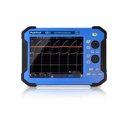 PeakTech P1211 digitálos oszcilloszkóp