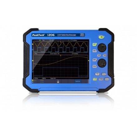 PeakTech P1206 digitális oszcilloszkóp