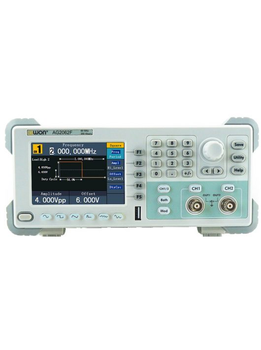 Owon AG2062F függvénygenerátor