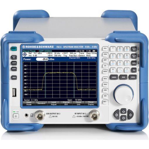 Rohde & Schwarz FSC6 Model16 spektrumanalizátor tracking generátorral