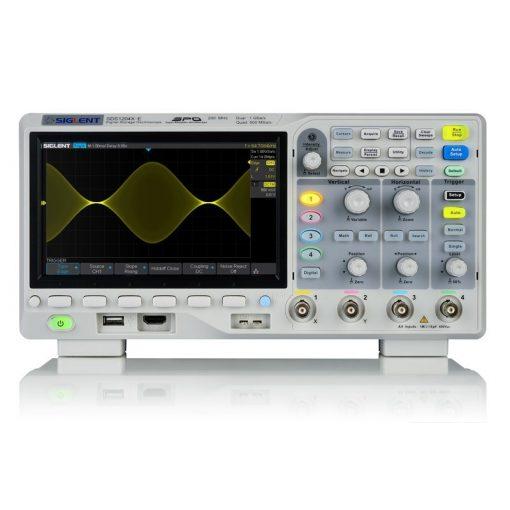 Siglent SDS1204X-E digitális tároló oszcilloszkóp