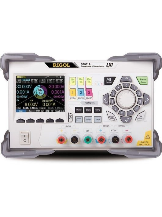 Rigol DP831A labortápegység
