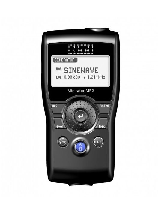 NTI Audio Minirator MR2 analóg audio generátor