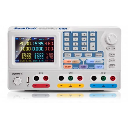 PeakTech P6181 labortápegység