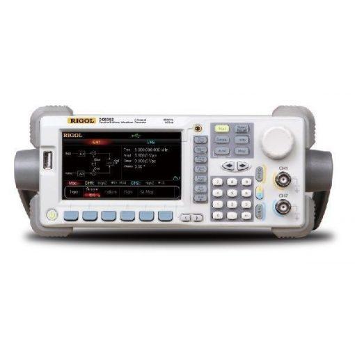 Rigol DG5102 függvénygenerátor