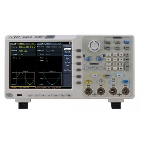 Owon XDG3102 függvénygenerátor
