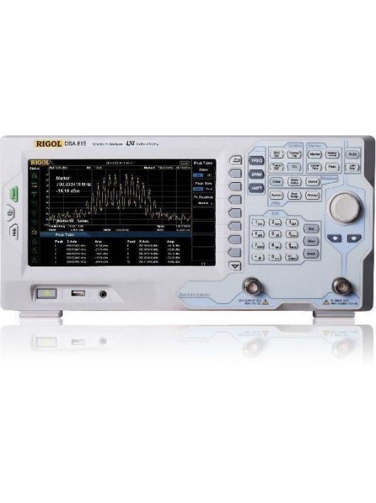 Rigol DSA815-TG spektrumanalizátor tracking generátorral