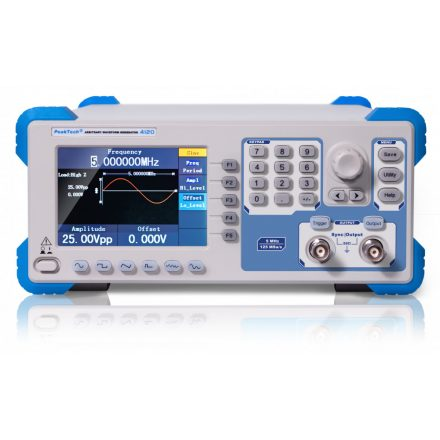 PeakTech P4120 függvénygenerátor