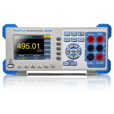 PeakTech P4094 digitális multiméter