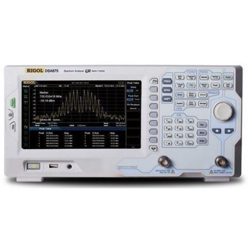 Rigol DSA875-TG spektrumanalizátor tracking generátorral