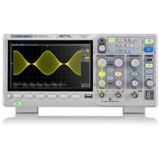 Siglent SDS1202X-E digitális tároló oszcilloszkóp