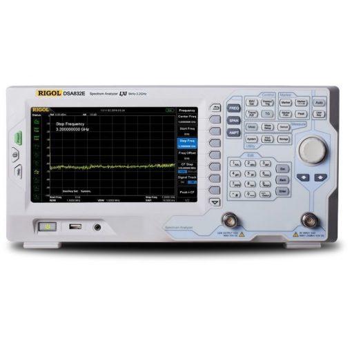Rigol DSA832E-TG spektrumanalizátor tracking generátorral