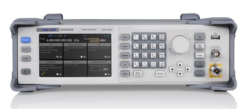 A Siglent bemutatta új, SSG5000X sorozatú rf szignálgenerátor családját